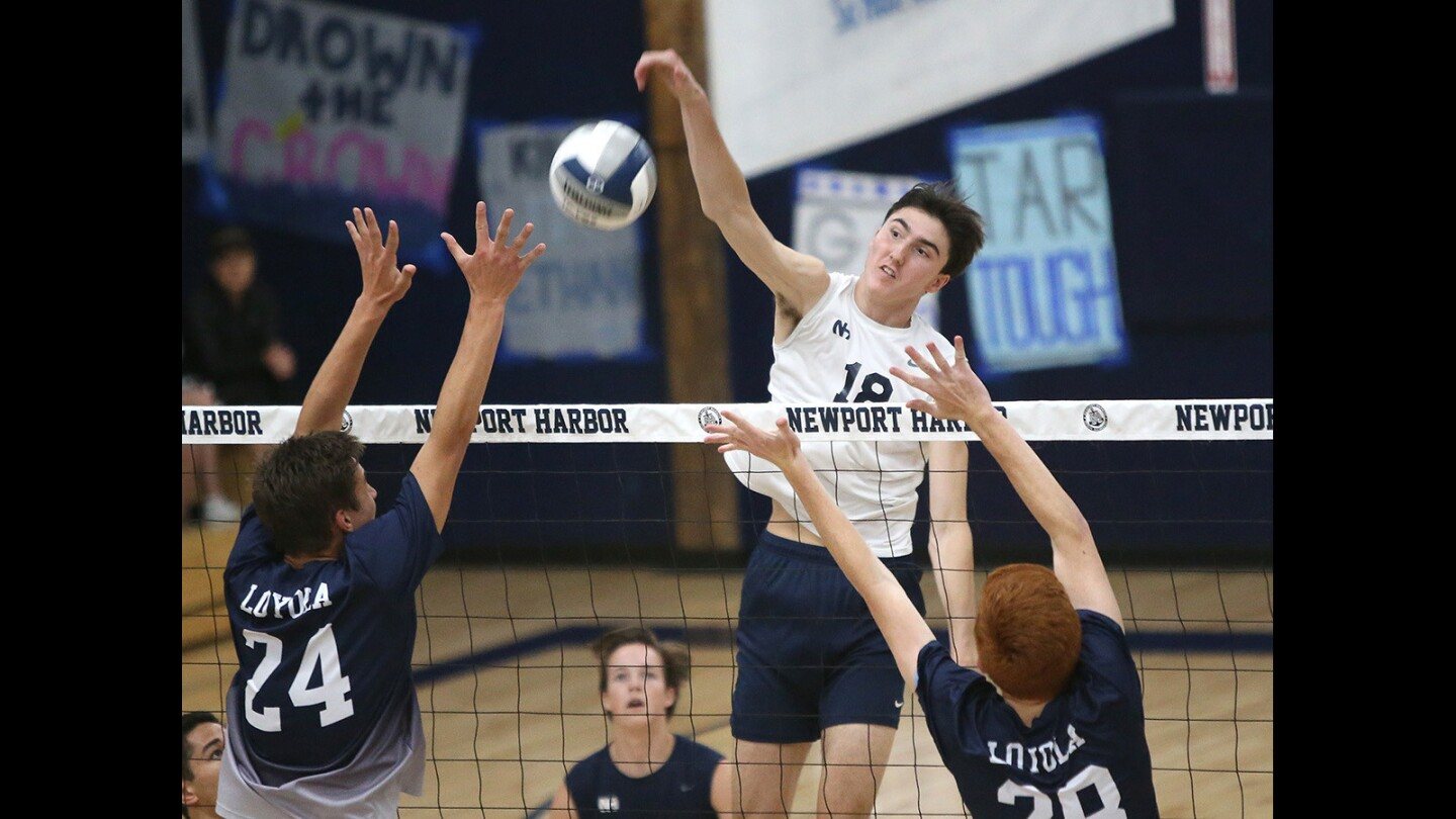Photo Gallery: Newport Harbor vs. Loyola