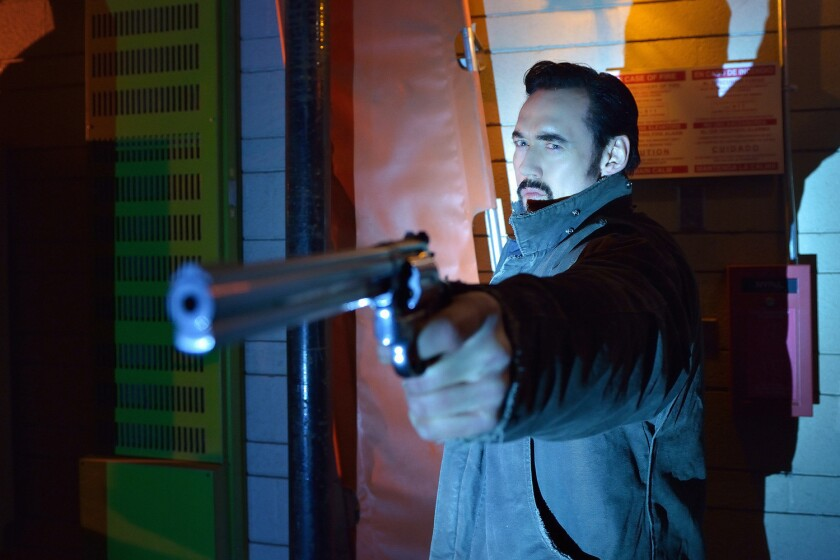 Vasiliy Fet (Kevin Durand) guns down vampires on 'The Strain' episode, 'The Battle of Red Hook'