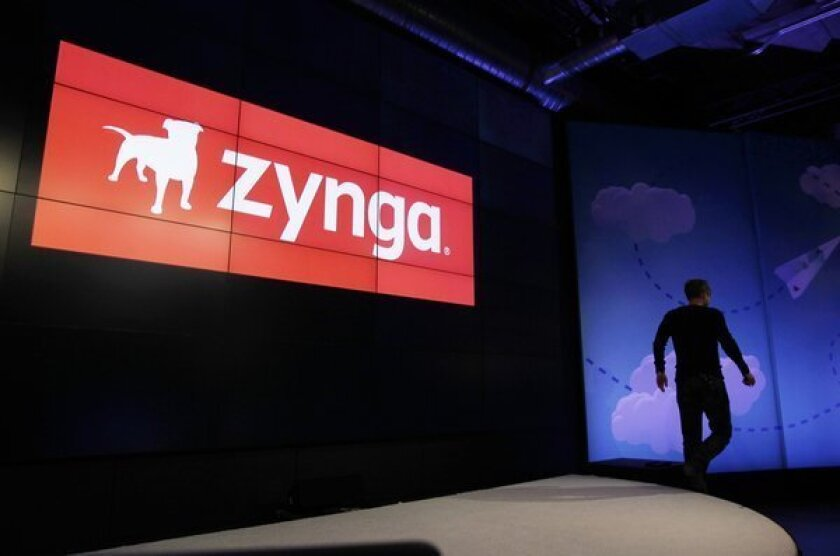 Zynga stock falls following new Facebook deal