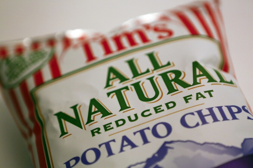"""""""Natural"""" on the label doesn't automatically mean low-calorie, experts caution."""