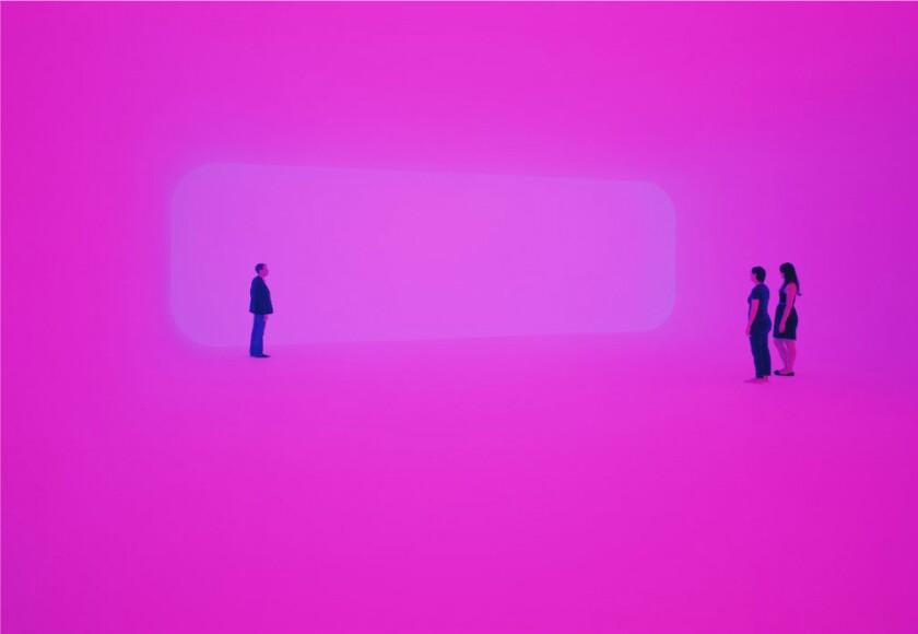 """James Turrell, """"Breathing Light,"""" 2013"""