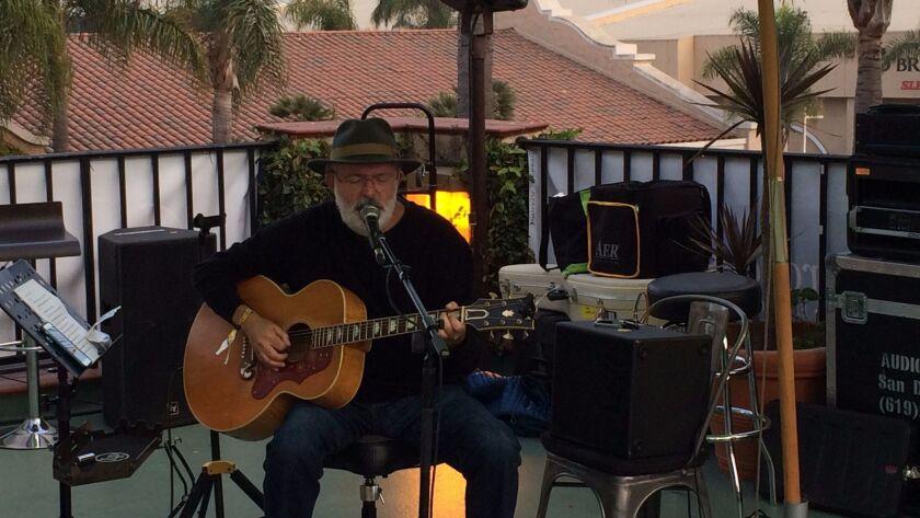 San Diego singer-songwriter performs at KAABOO's Hang Ten Trestles Lounge