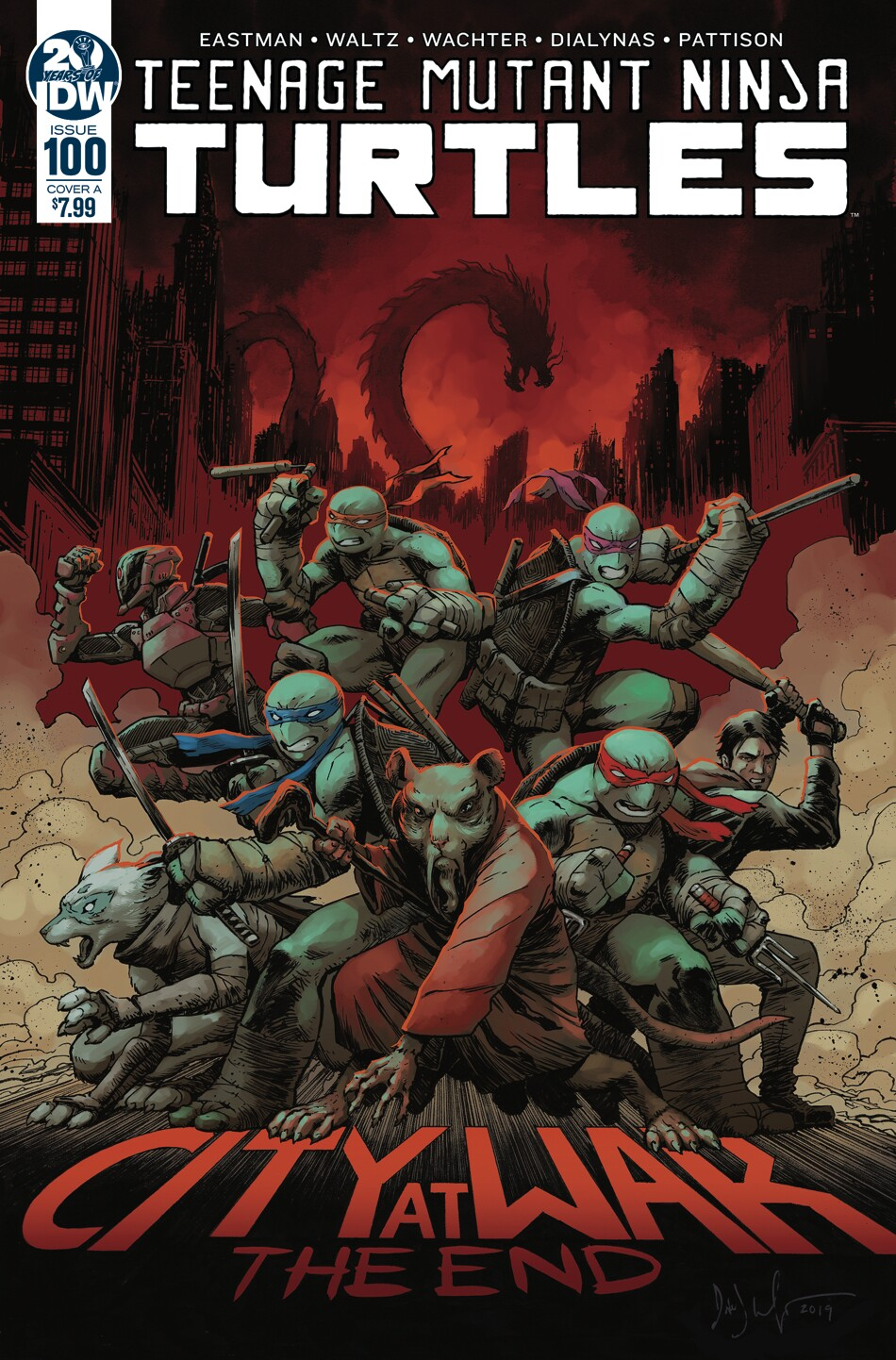 Idw Publishing S Teenage Mutant Ninja Turtles Reaches 100th Edition Milestone The San Diego Union Tribune
