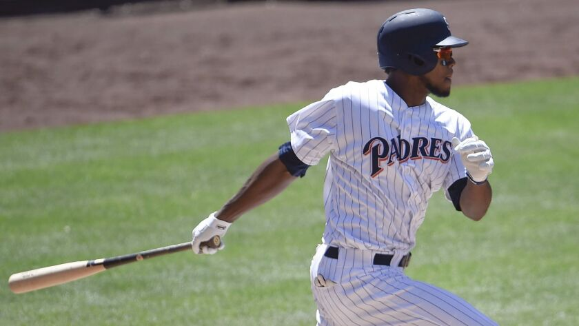 Franchy Cordero of the Padres