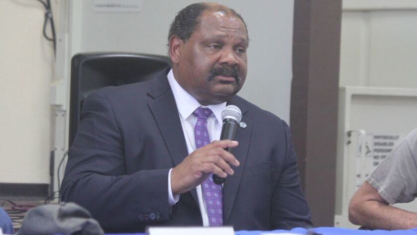San Diego Department of Park & Recreation director Herman Parker