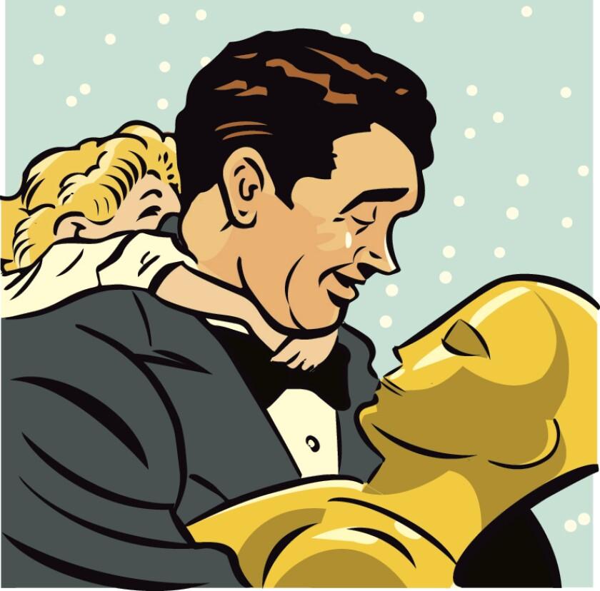 Best Actor illustration - James Stewart