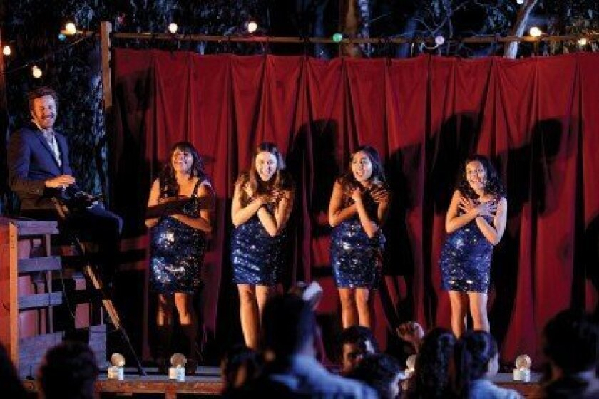 Four talented, young Australian Aboriginal girls learn about love, friendship and war when their all-girl group, The Sapphires, entertains U.S. troops in Vietnam. The film screens 7 p.m. Wednesday, Sept. 26 at Reading Theater in the Gaslamp. Courtesy