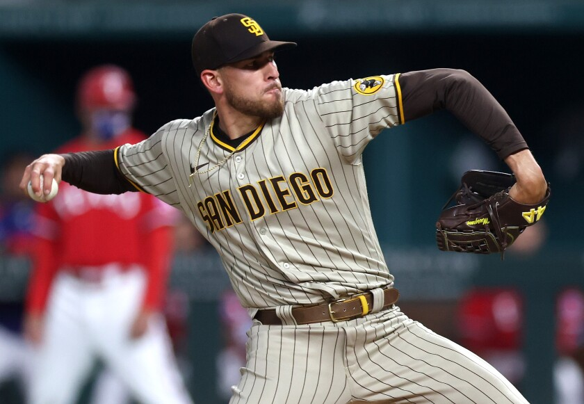 Joe Musgrove will pitch on schedule Wednesday against his former team, the Pittsburgh Pirates.