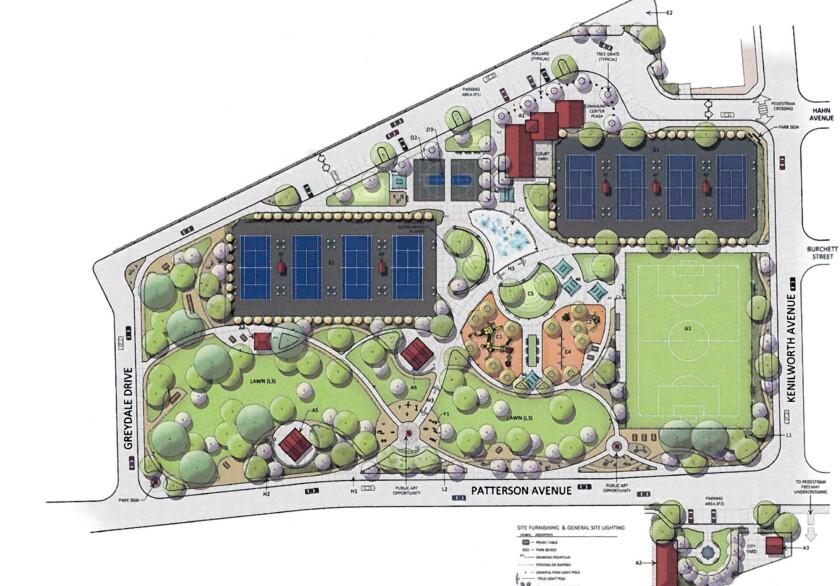 Master plan for Fremont Park