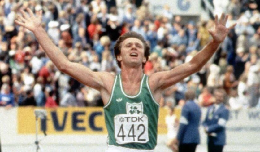 """Eamonn Coghlan of Ireland enjoyed success outdoors as well, but the """"Chairman of the Boards"""" had a special knack for running indoors, especially at the San Diego Sports Arena."""