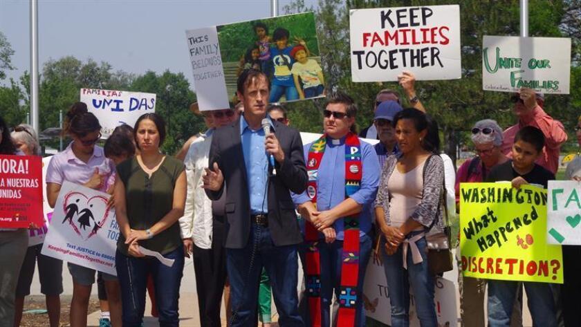 Vista de varios manifestantes en Colorado. EFE/Archivo