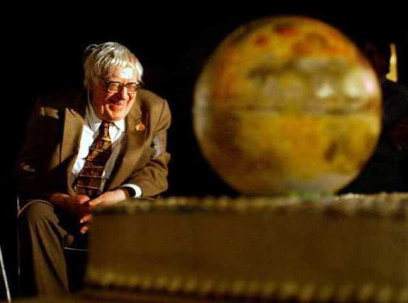 Ray Bradbury in 2003