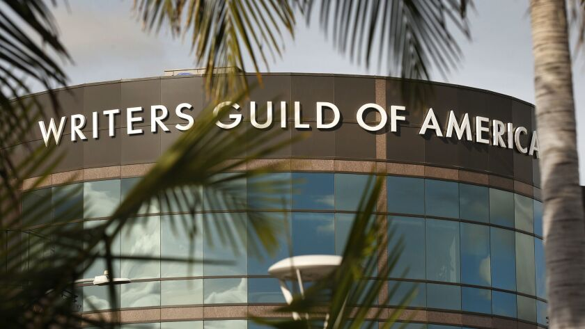 The Writers Guild of America and Hollywood talent agencies are facing a Friday deadline to reach a negotiated settlement on their contract.