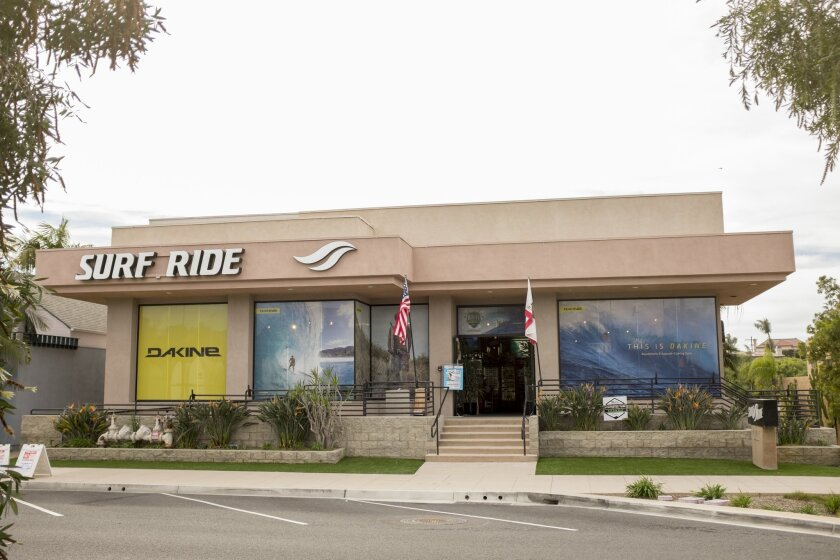 Surf Ride's Solana Beach store.