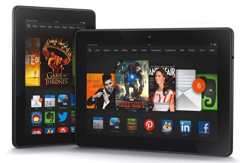 Amazon.com will donate $20 to charity for every Kindle Fire HDX tablet purchased Tuesday through Sunday.