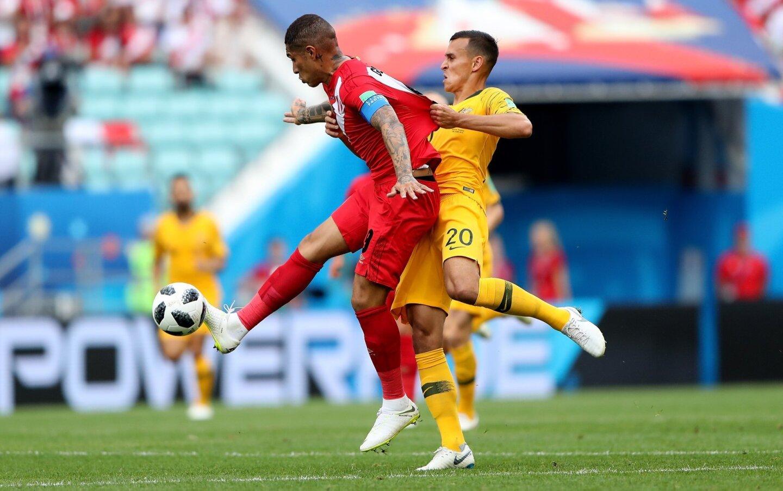Australia 0-2 Perú