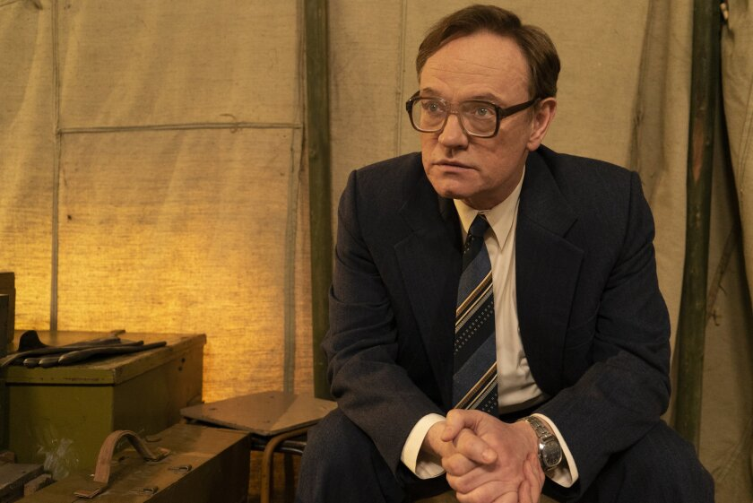 "Jared Harris in a scene from episode 2 of the HBO mini series ""Chernobyl."" Credit: Liam Daniel/HBO"