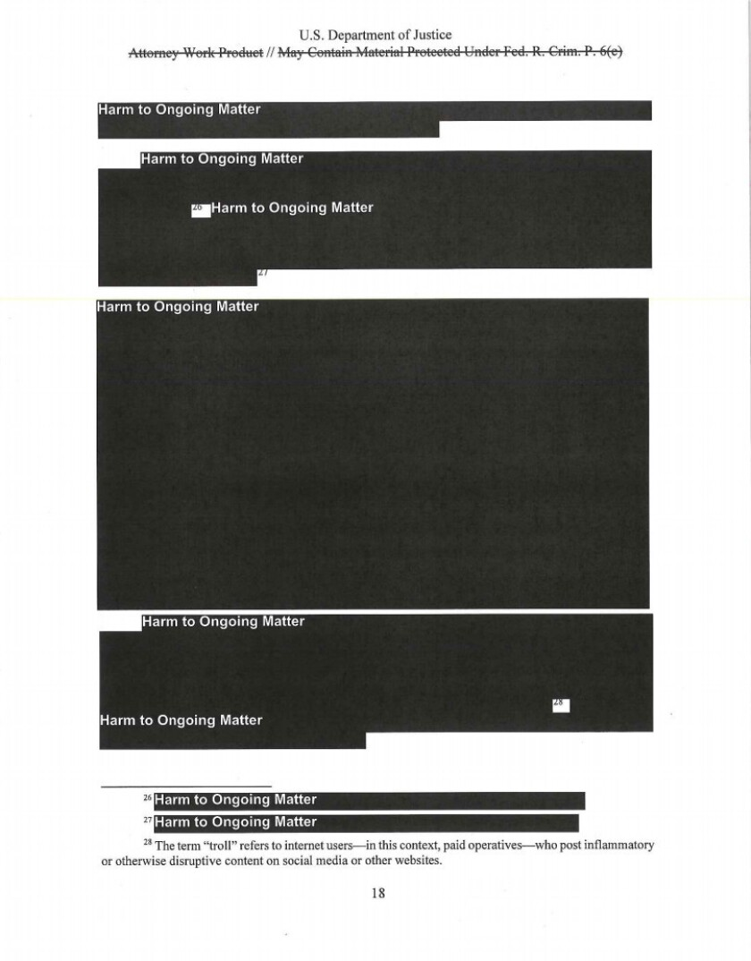 Mueller Report Released To The Public