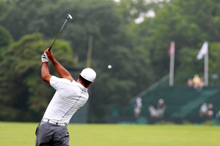 There's no reminisce in Tiger Woods, say three major challengers