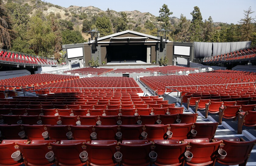 The Greek Theatre in Griffith Park has canceled its 2020 season.