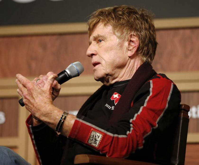 El actor estadounidense y fundador del festival de Sundance, Robert Redford. EFE/Archivo