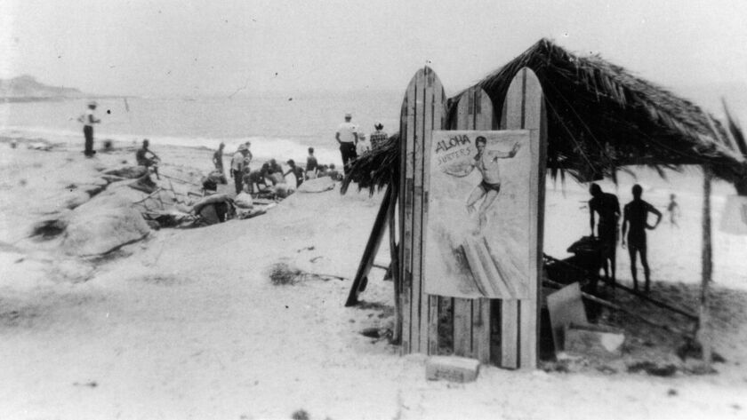 The shack at WindanSea beach was reportedly built in 1947 by former soldiers of World War II 'for shade and aloha.'