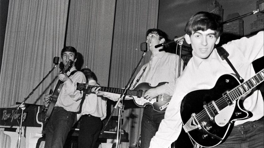 Photo of The Beatles in Hamburg, 1962