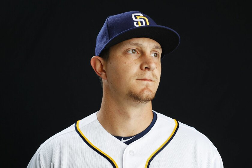 San Diego Padres infielder Alex Dickerson.