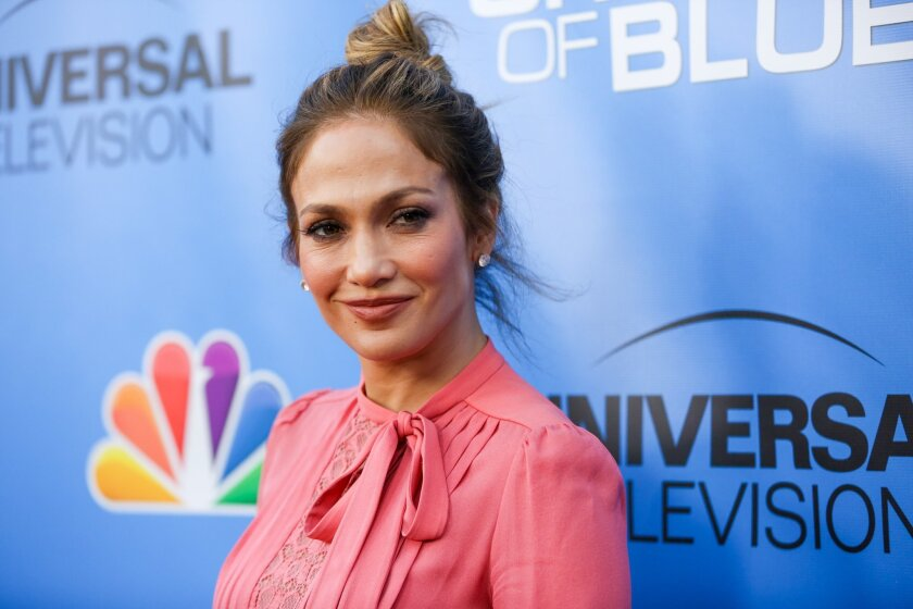 """FILE - In this June 9, 2016, file photo, Jennifer Lopez arrives at the """"Shades of Blue"""" FYC Event at Saban Media Center in Los Angeles. Lopez told The Hollywood Reporter on August 10, 2016, that she would star in and produce an HBO biopic about late drug lord Griselda Blanco. (Photo by Rich Fury/In"""