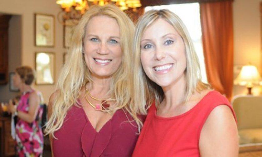 Co-Presidents Greta Sybert and Diane Dale