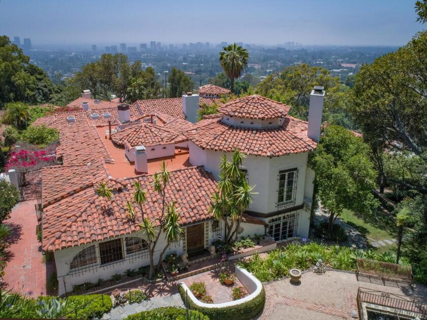John Barrymore's former Beverly Crest compound | Hot Property