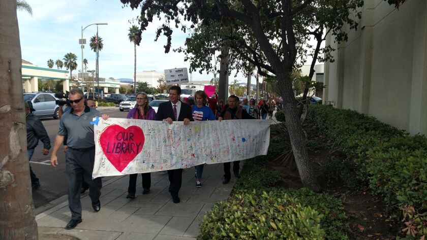 Lawsuit challenges library outsourcing in Escondido - The