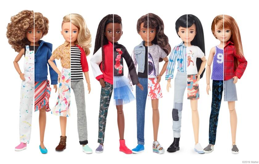 Mattel's Creatable World dolls