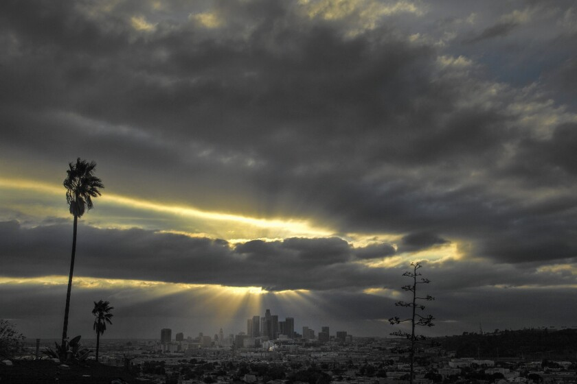 Long-range forecasts call for Southern California to get slightly above-average rainfall in March and April. But that will be counter-balanced by above-average temperatures.