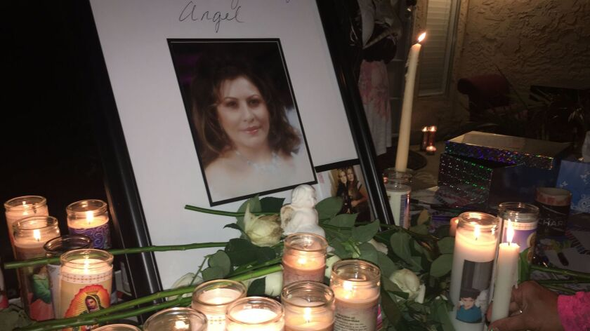 Family and friends remembered Leticia Arroyo, 34, at a vigil a week after her death in October 2016.