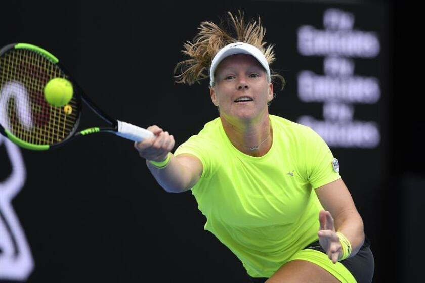 En la imagen, la tenista holandesa Kiki Bertens. EFE/Archivo
