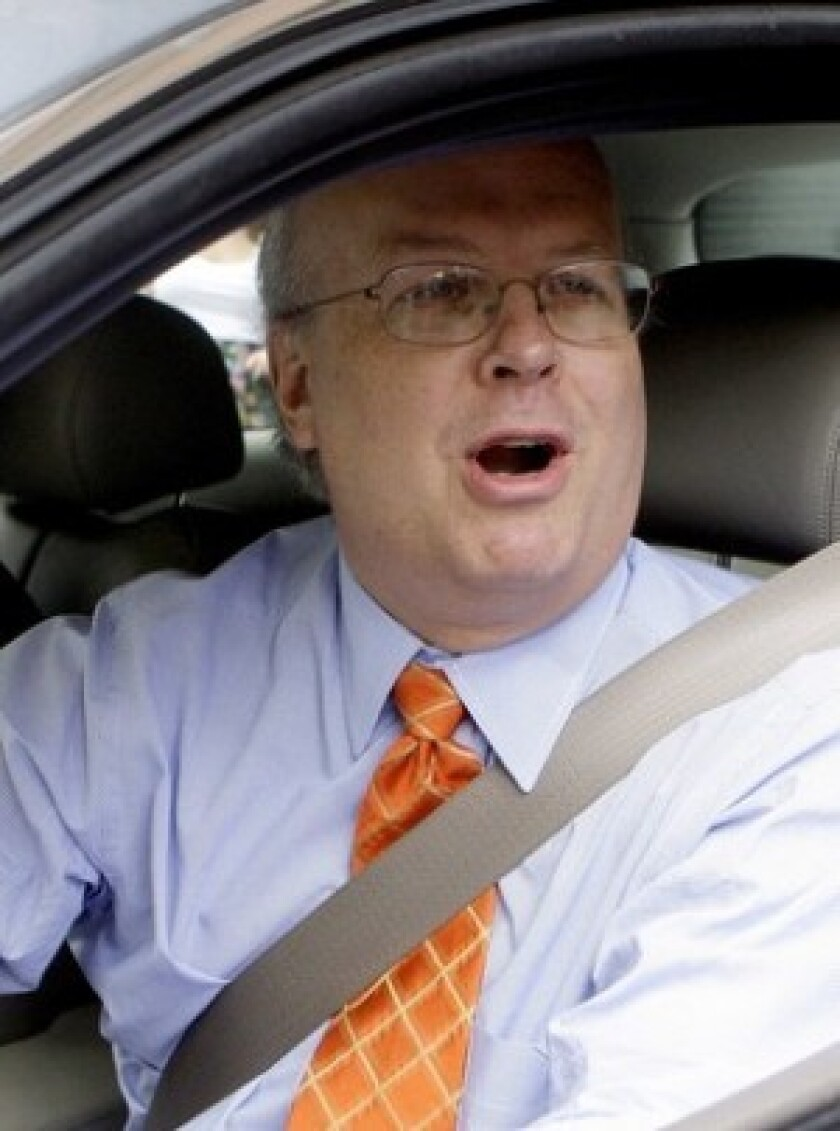 "Karl Rove said he believes the newly released documents ""show politics played no role in the Bush administration's removal of U.S. attorneys, that I never sought to influence the conduct of any prosecution, and that I played no role in deciding which U.S. attorneys were retained and which replaced."""