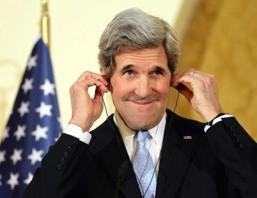 John Kerry finally gets to let his Europhilia loose