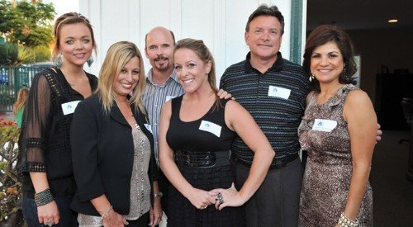 Kimberly Fasnacht, Rhonda Knight, Steve Knight, Shana Witkin, Dave Baker and Yvette Letourneau (Jon Clark)