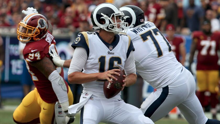 L A Times Sam Farmer Predicts The Rams Will Beat The 49ers 23 16 In Thursday Night Football Los Angeles Times