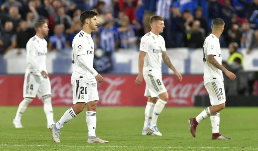 El Real Madrid vive uno de sus peores momentos de la época recientes...