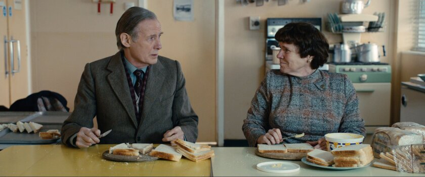 """Bill Nighy and Imelda Staunton appear in """"Pride,"""" named best film of 2014 at the Moet British Independent Film Awards. Staunton picked up the award for supporting actress."""