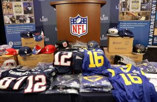 Buyer beware: Officials warn of counterfeit NFL merchandise ahead of the Super Bowl