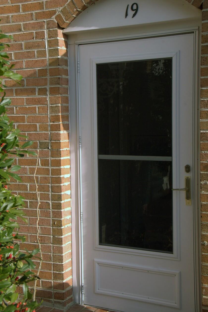 Storm doors do a good job of protecting an entrance door.
