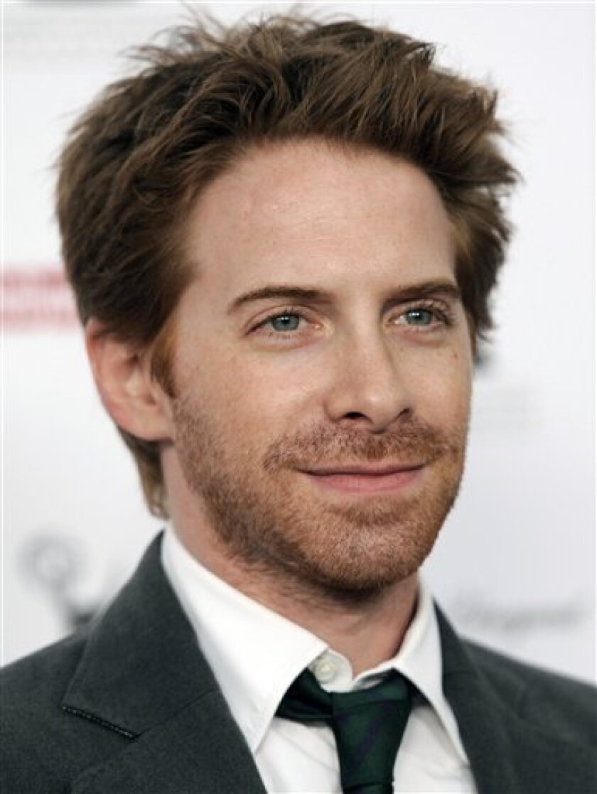 FILE - In this Aug. 27, 2010 file photo, actor Seth Green arrives at the 62nd Primetime Emmy Awards Performers Nominee Reception in West Hollywood, Calif. (AP Photo/Chris Pizzello, file)
