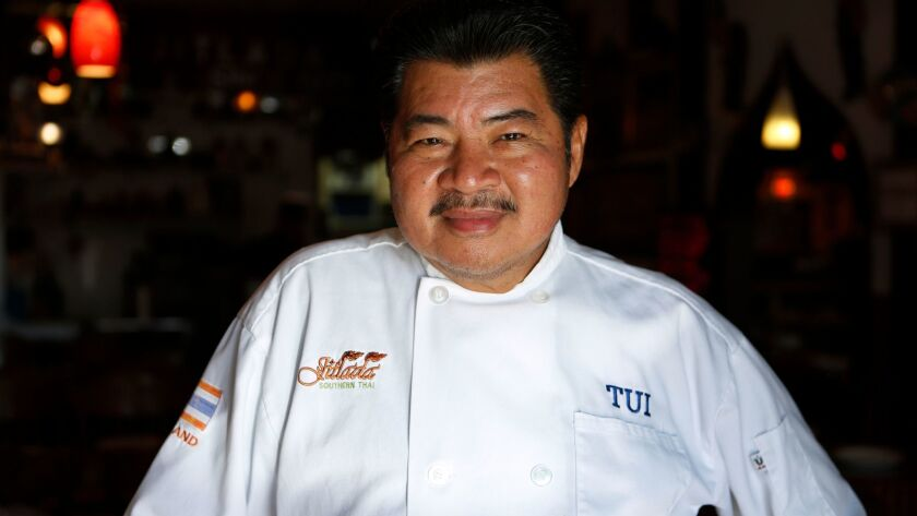 "Jitlada restaurant chef and co-owner Suthiporn ""Tui"" Sungkamee died at the age of 66."
