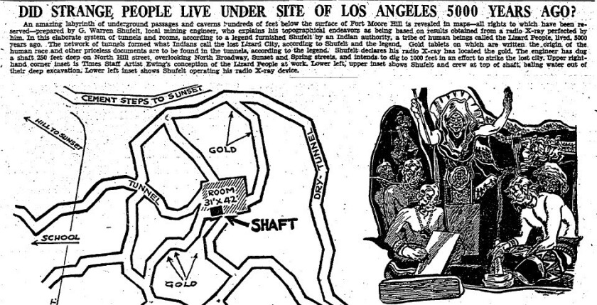 Did Strange People Live Under Site of Los Angeles 5000 Years Ago?