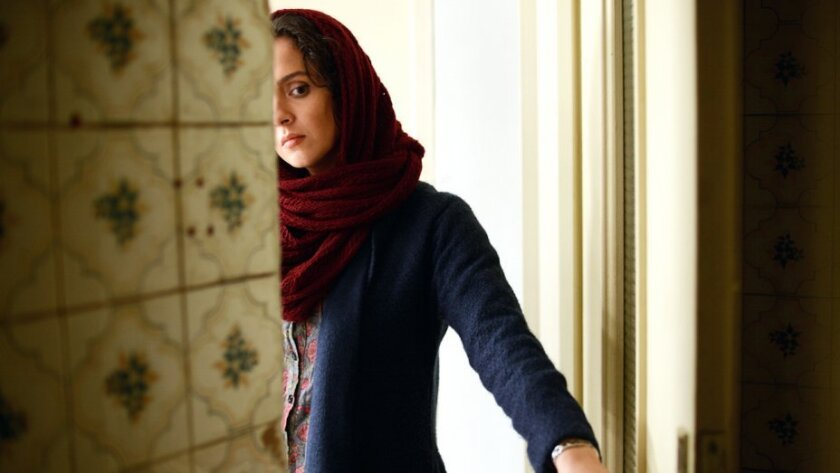 "Taraneh Alidoosti in Iran's ""The Salesman"",  a 2016 Iranian-French drama film directed by Asghar Farhadi."