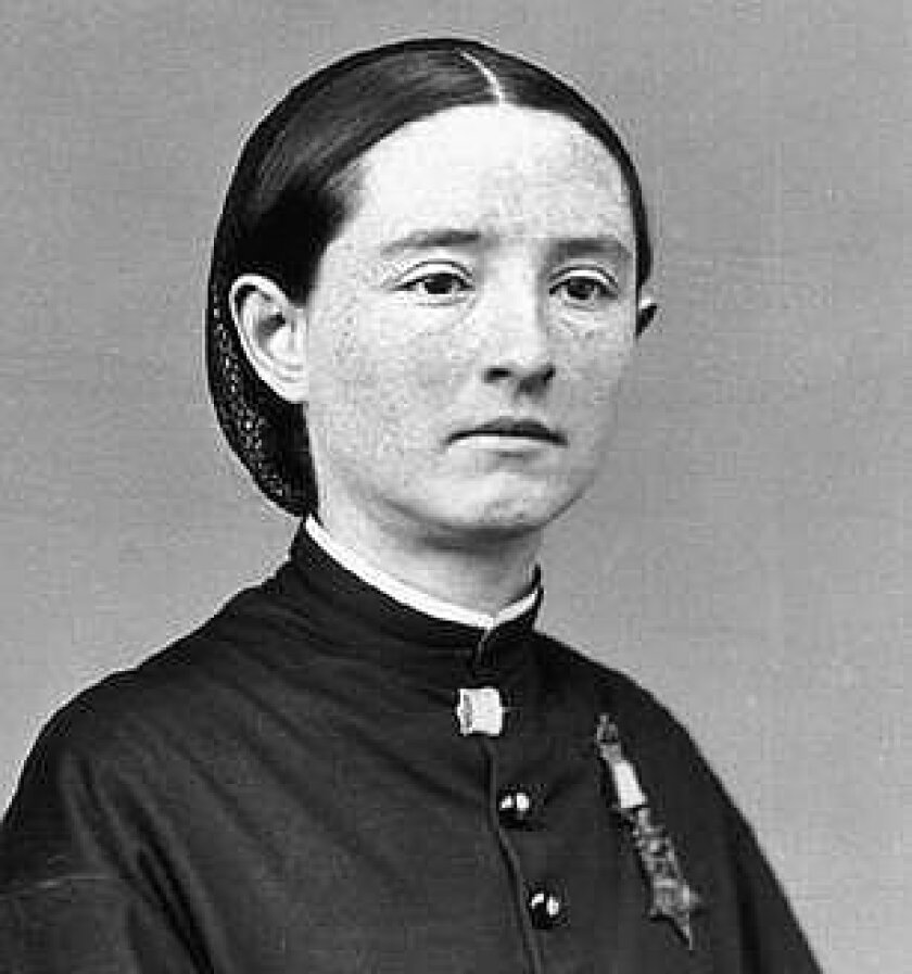 Mary Edwards, the only woman to have received the Medal of Honor.