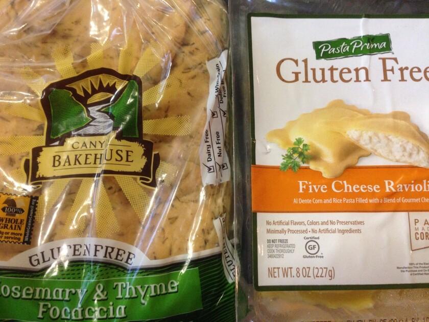Gluten-free pasta and bread